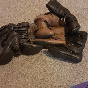 Other - Bundle of kids boots. Worn! See all pics!